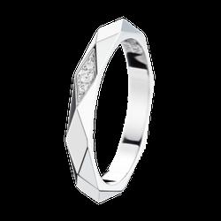 ファセットダイヤモンドリング