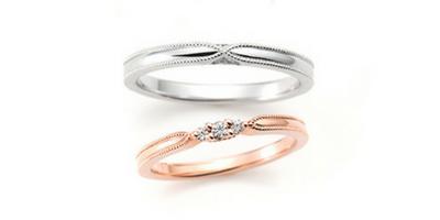 ACOUSTIC LOVE(結婚指輪画像)