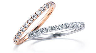 結婚指輪に向いているエタニティリングの選び方(イメージ)