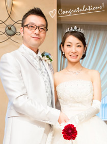 先輩花嫁が語る結婚指輪ストーリー(イメージ)