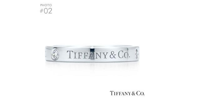 Tiffany&Co.バンドリング〈プラチナ〉