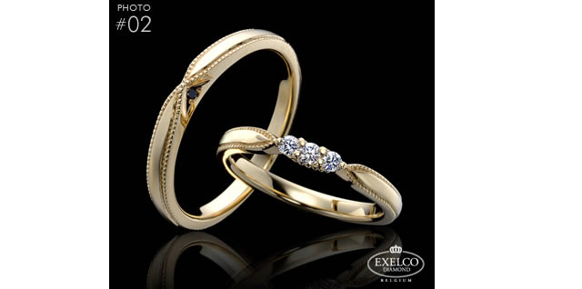 エリザベート〈ゴールド 18K、ダイヤモンド〉