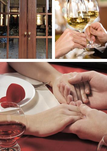 【ストーリー1】プロポーズは、サプライズ 二人でよく行くレストランで(イメージ)
