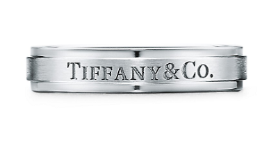 Tiffany & Co.® サテン フィニッシュ バンドリング