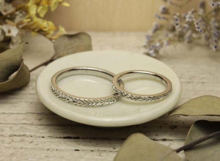 薬院結婚指輪工房 HATAEの商品サンプル
