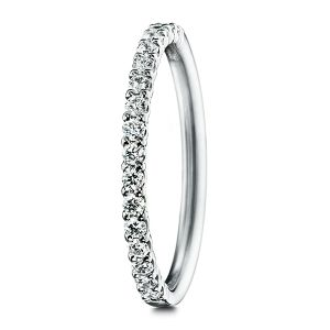 RD-F2277-PT950(BRILLANTE Half Eternity 16 Ring)