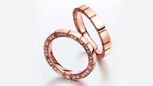 結婚指輪はどっちがいい?輝く素材、プラチナorゴールド(イメージ)