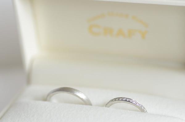 手作りブランド「CRAFY」の結婚指輪と料金について
