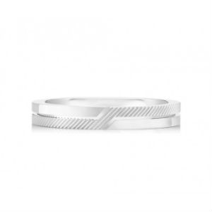PROMISE HALF TEXTURED BAND 3.0MM