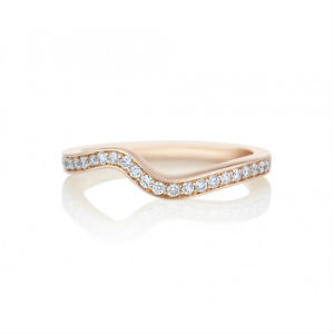 CARESS ROSE GOLD WEDDING BAND