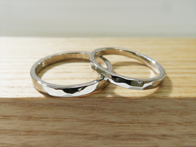 指輪工房G.festaの結婚指輪デザイン2