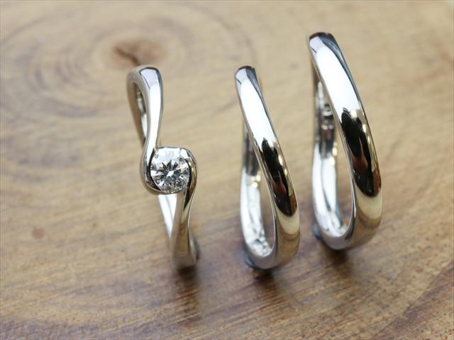 指輪工房G.festaの結婚指輪デザイン3