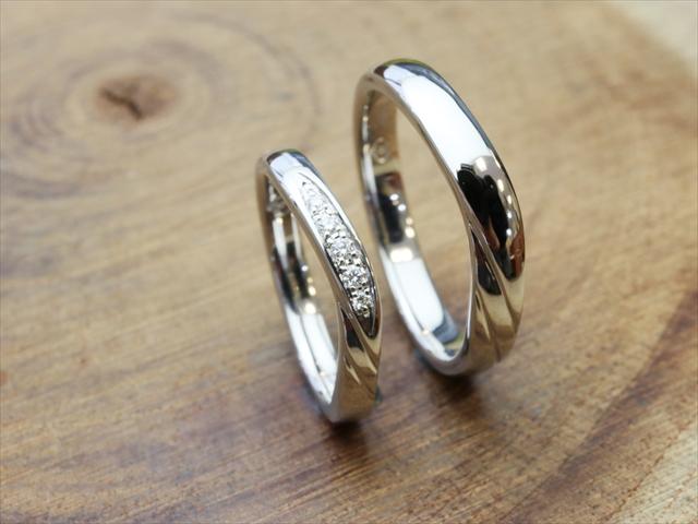指輪工房G.festaの結婚指輪デザイン4