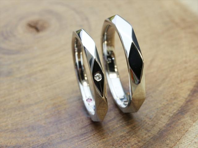 指輪工房G.festaの結婚指輪デザイン5