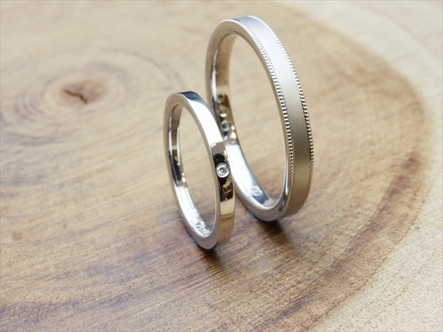 指輪工房G.festaの結婚指輪デザイン6