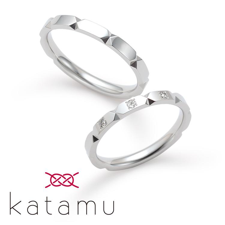 katamuの結婚指輪デザイン2