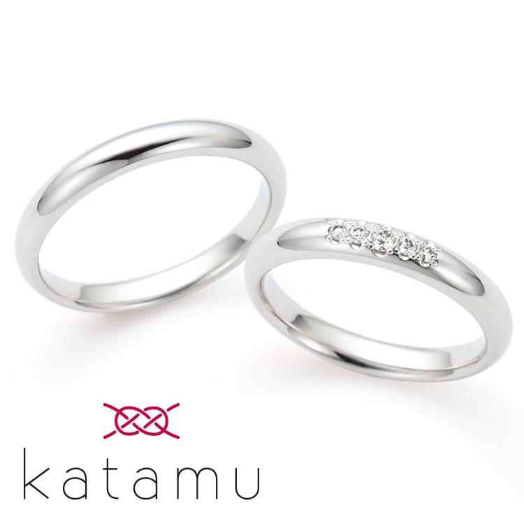 katamuの結婚指輪デザイン3