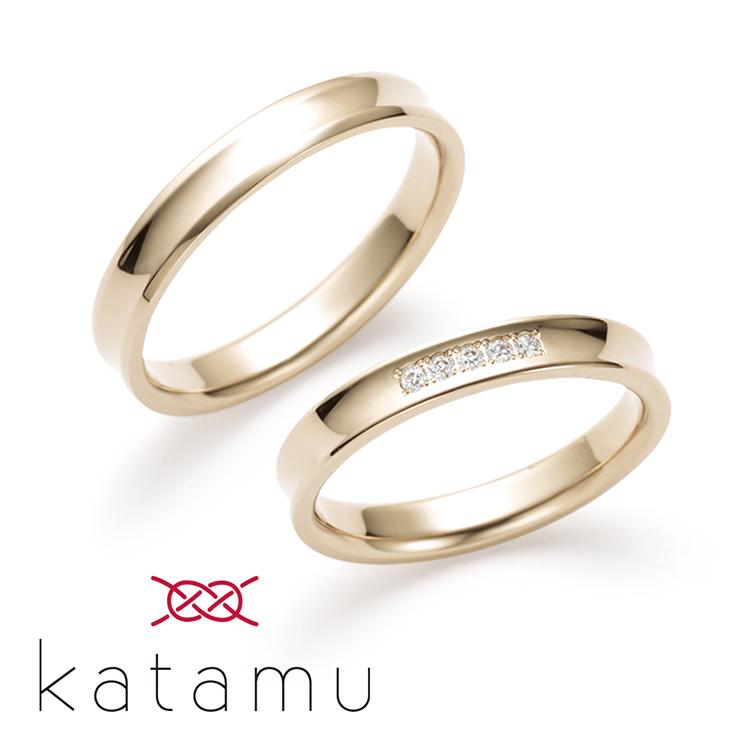 katamuの結婚指輪デザイン6