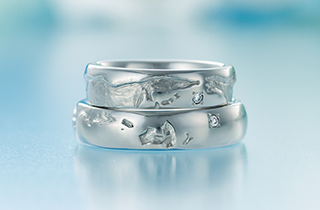 結婚指輪手作り.comの結婚指輪デザイン2