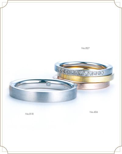 の結婚指輪デザイン2