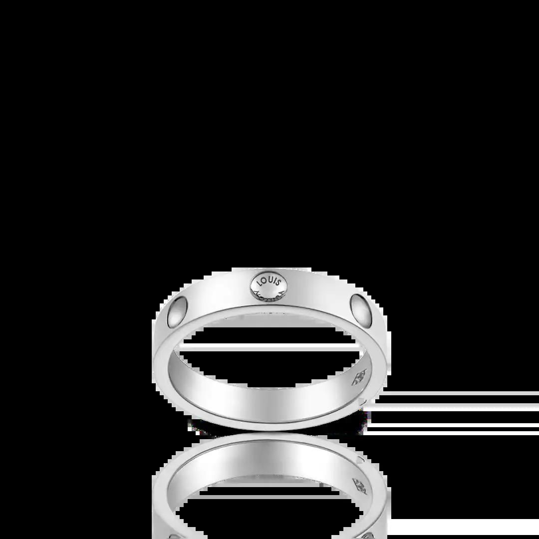 ルイ・ヴィトンの結婚指輪デザイン1
