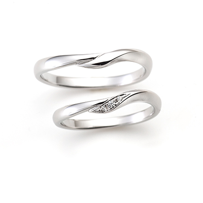 LOVE NOTESの結婚指輪デザイン1