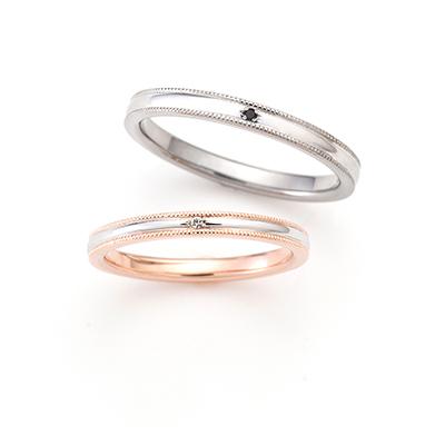 LOVE NOTESの結婚指輪デザイン3
