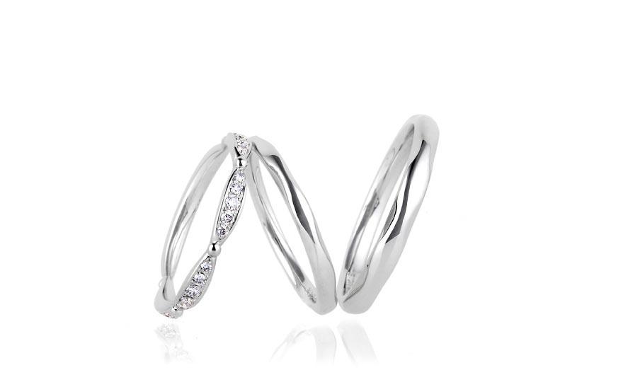 ルシエの結婚指輪デザイン1