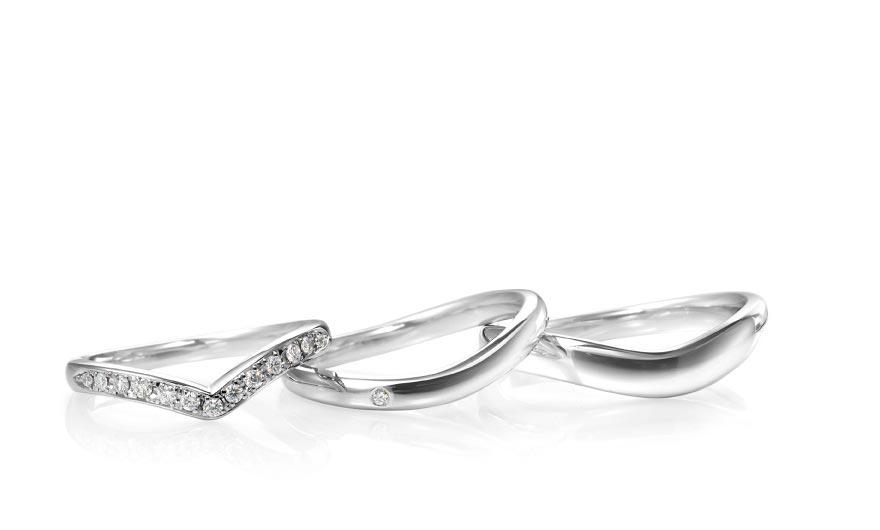 ルシエの結婚指輪デザイン2