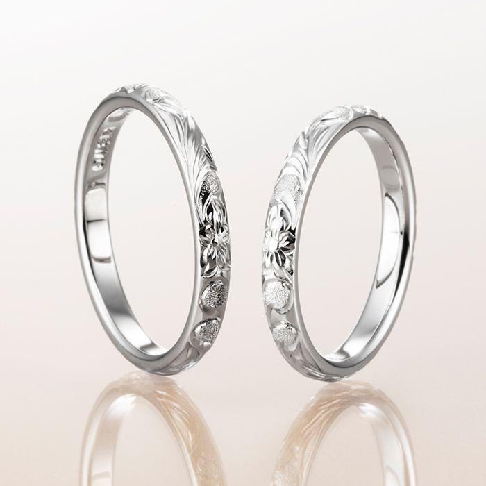 Makanaの結婚指輪デザイン1