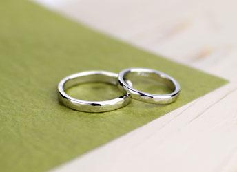 ジュエリークラフトMAKIの結婚指輪デザイン1