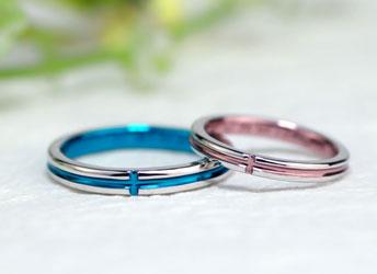 ジュエリークラフトMAKIの結婚指輪デザイン3