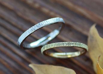 ジュエリークラフトMAKIの結婚指輪デザイン4