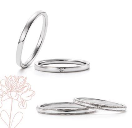 Marie et Marieの結婚指輪デザイン1