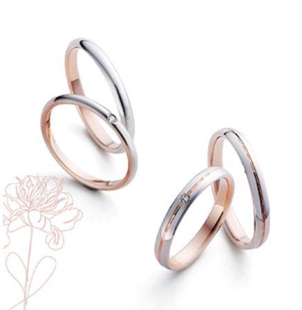 Marie et Marieの結婚指輪デザイン2