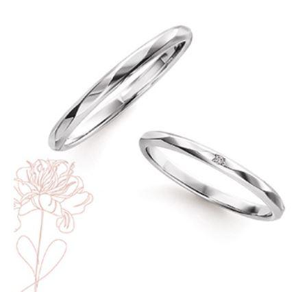 Marie et Marieの結婚指輪デザイン3