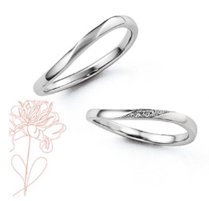 Marie et Marieの結婚指輪デザイン4