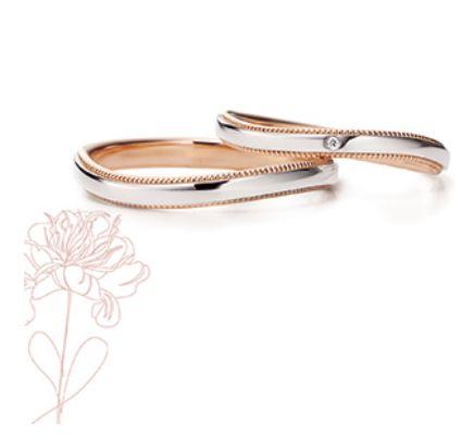 Marie et Marieの結婚指輪デザイン5