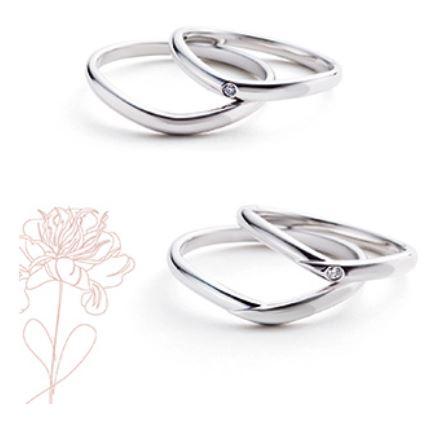Marie et Marieの結婚指輪デザイン6