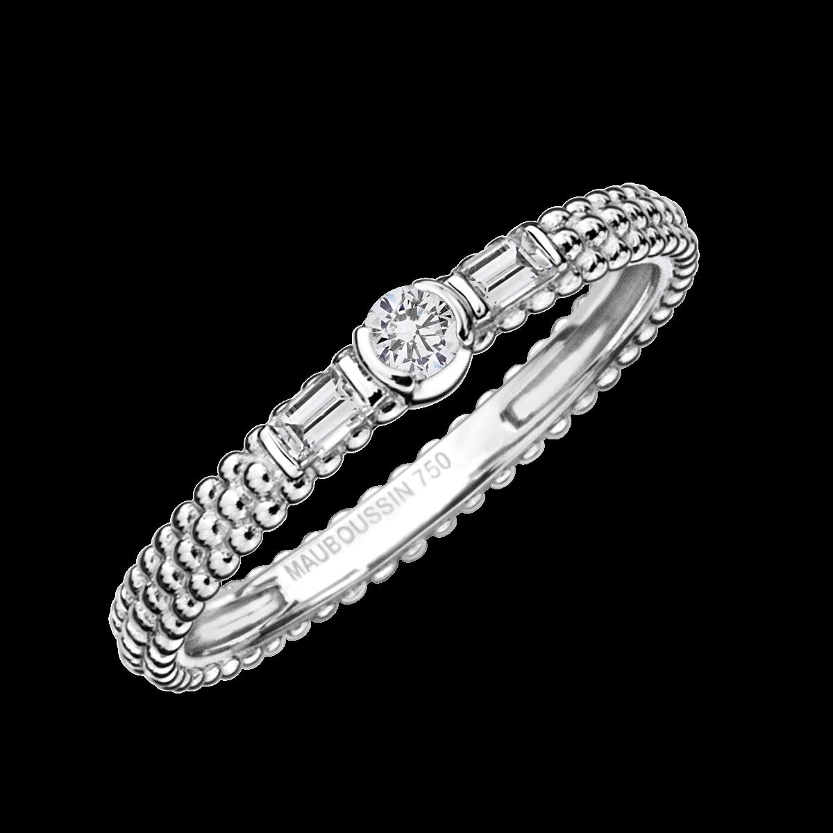 MAUBOUSSINの結婚指輪デザイン1
