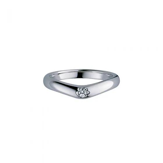 ミキモトの結婚指輪デザイン1