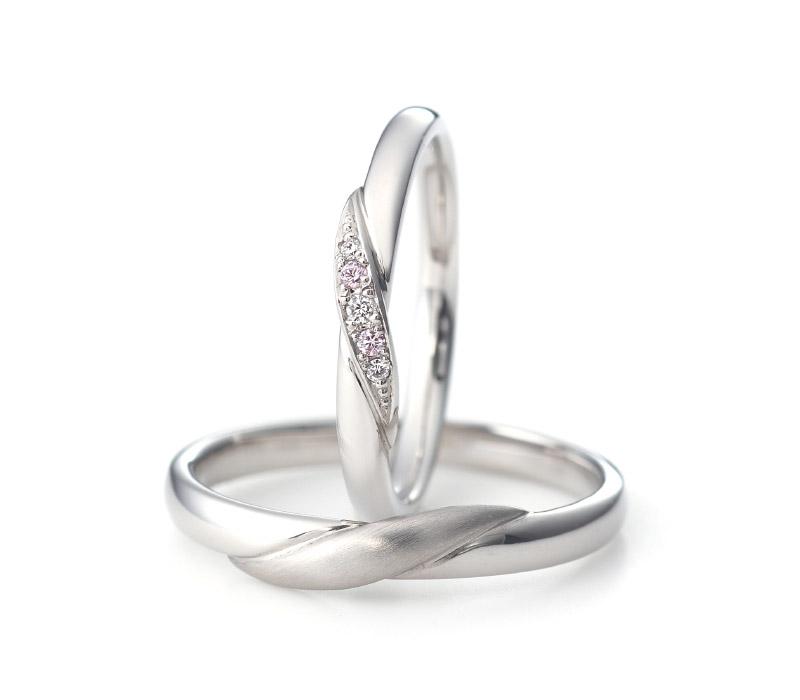 ミルク&ストロベリーの結婚指輪デザイン3