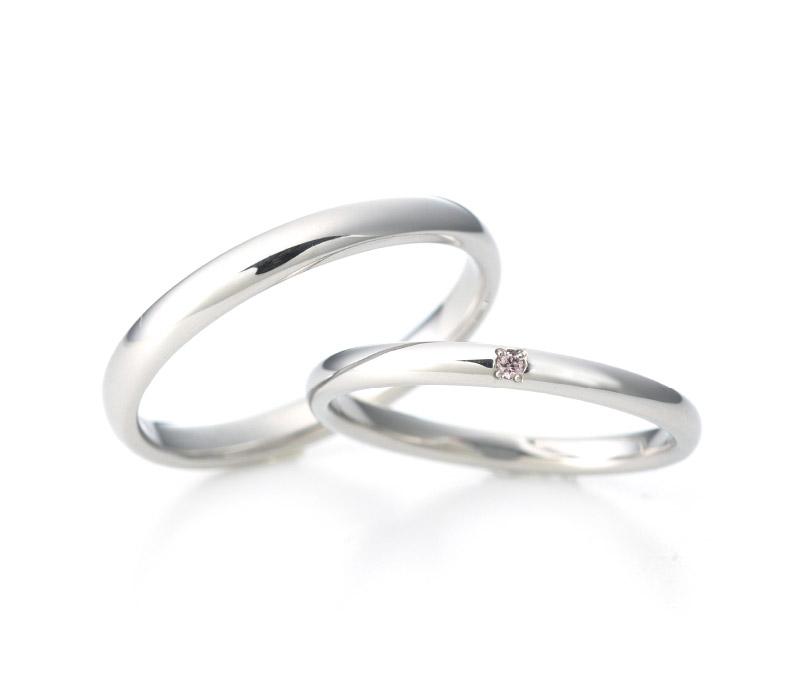 ミルク&ストロベリーの結婚指輪デザイン4