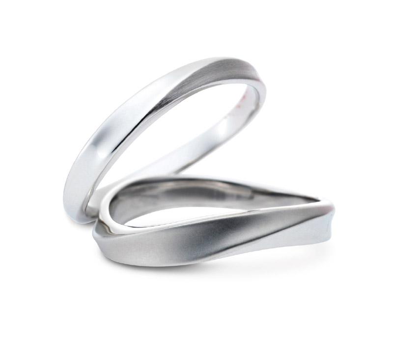 ミルク&ストロベリーの結婚指輪デザイン5