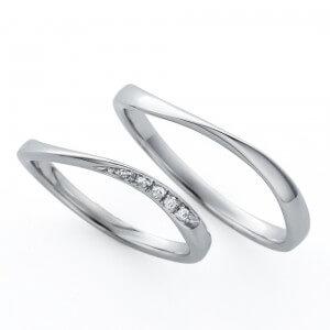 日本ダイヤモンド貿易の結婚指輪デザイン2