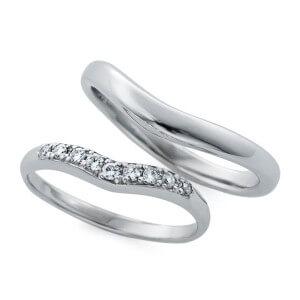 日本ダイヤモンド貿易の結婚指輪デザイン3