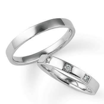 日本ダイヤモンド貿易の結婚指輪デザイン5