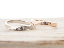 アトリエソエタの結婚指輪デザイン6
