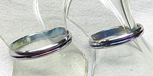 の結婚指輪デザイン1
